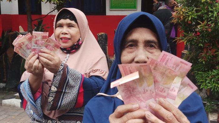 VIDEO: Ratusan Warga Panunggangan, Pinang, Tangerang Terima Bantuan Rp 600 Ribu
