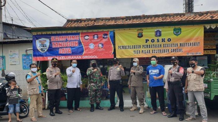 Setelah Jadi Kampung Tangguh Jaya, RW 09 Grogol Masuk Zona Hijau