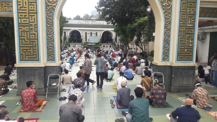 Masjid Agung Sunda Kelapa Tak Terapkan Ganjil Genap Sesuai Surat Edaran DMI, Ini Alasannya