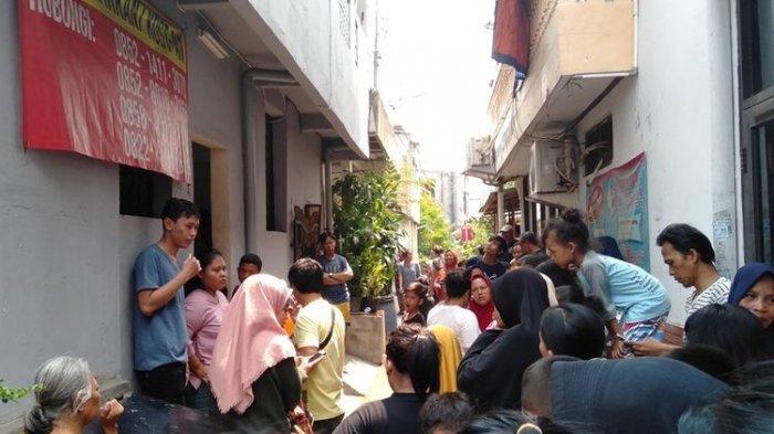 HEBOH Warga Temukan Mayat Wanita Hamil dalam Posisi Melahirkan di Sebuah Kamar Kos di Pancoran