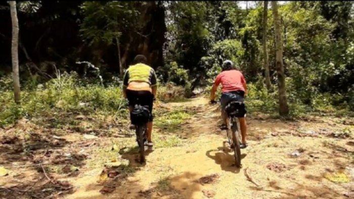 Video Bersepeda ke Kampung Cioray, Rantai Putus & Membelah Hutan (PART 3-habis)