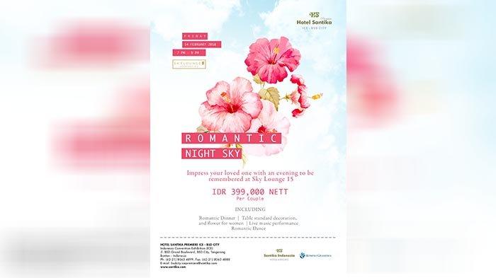 Rayakan Hari Kasih Sayang bersama Jaringan Santika Indonesia