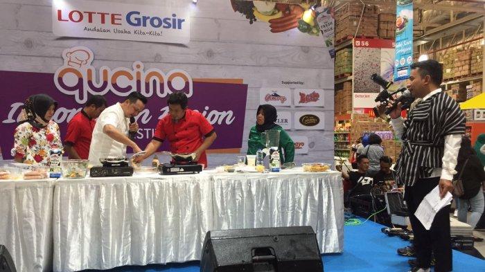Lotte Grosir Inspirasi Horeka di Indonesian Fusion Food Festival