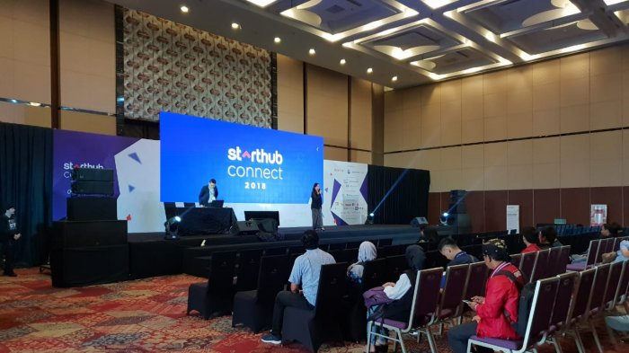 Starthub Connect 2018 Digelar di International Convention Exhibition (ICE)
