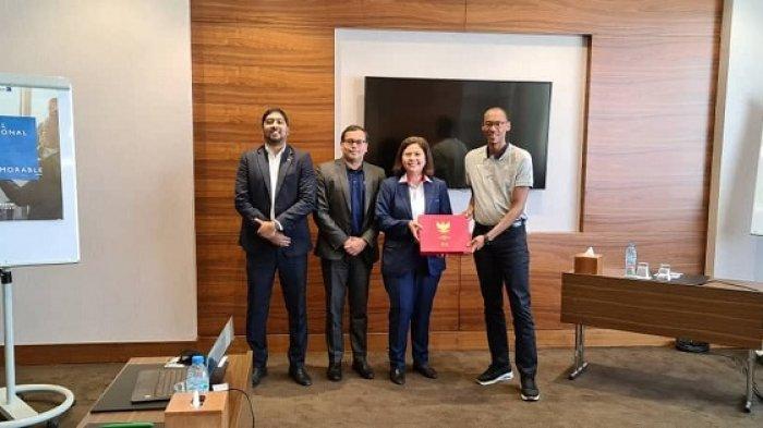 Chief Member Associations Officer FIFA Kenny Jean Marie Sebut Sepak Bola Indonesia Punya Potensi