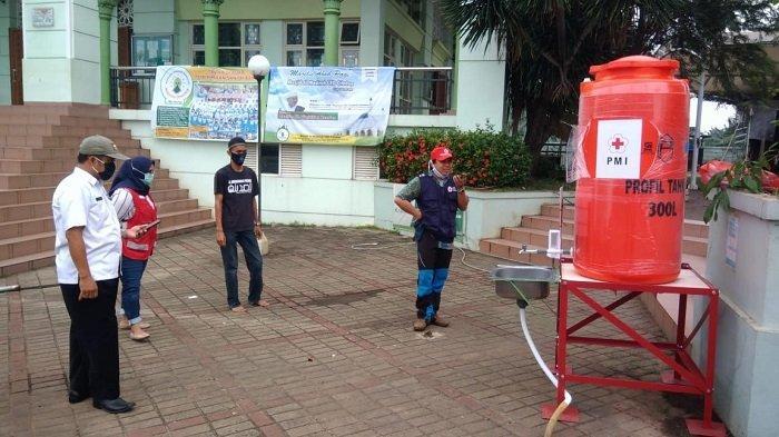 PMI Kota Tangerang Salurkan Wastafel Portabel ke Fasilitas Pelayanan Publik