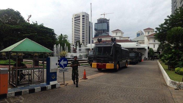 Antisipasi Aksi 313, Water Canon Disiagakan di Balai Kota DKI