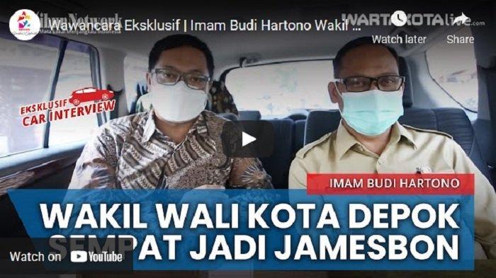 VIDEO Wakil Wali Kota Depok Imam Budi Hartono,Mendadak