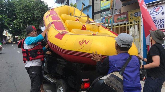 Kabupaten Tangerang Kekurangan Perahu Karet dalam Hadapi Musim Hujan Ini