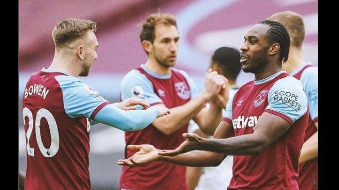 Hasil Babak Pertama West Ham vs Tottenham 1-0, Anak Buah Mourinho Tertinggal Sejak Menit Kelima