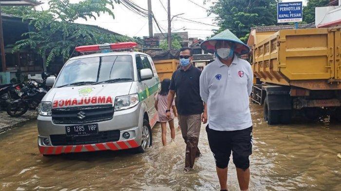 Wahidin Halim Ingin Anak-anak, Ibu Hamil dan Lansia Prioritas Utama Evakuasi Korban Banjir Tangerang