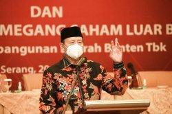 Wahidin Halim Optimistis Bank Banten Mampu Bersaing di Industri Perbankan