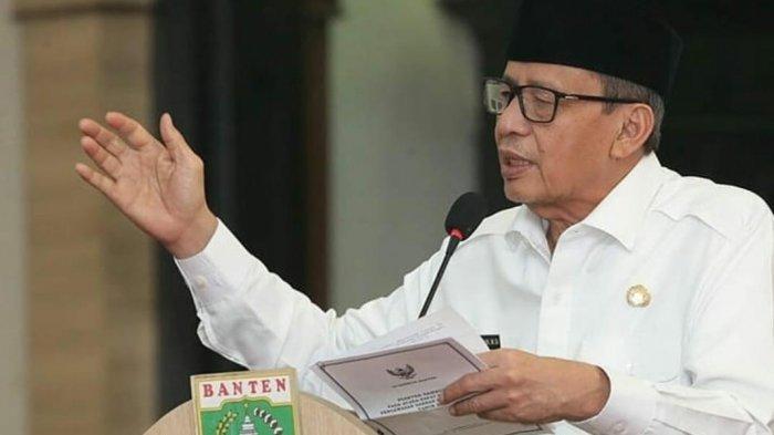 Wahidin Halim Ingin Normalisasi Kali Angke untuk Mencegah Banjir Tangerang