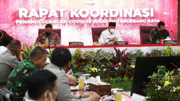 Wahidin Halim Apresiasi Soliditas Polri, TNI, Pemda, dan Masyarakat Tanggulangi Covid-19