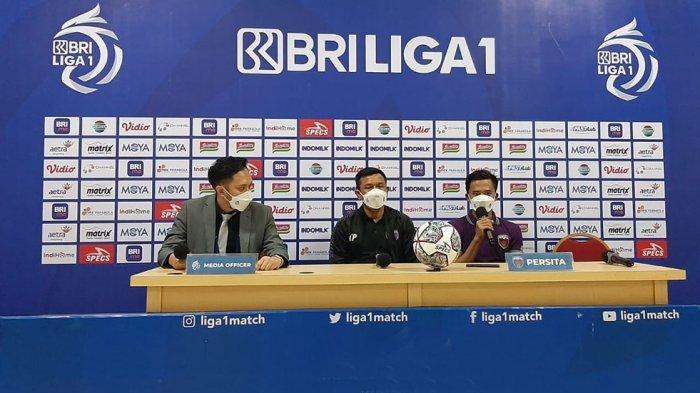 Widodo Cahyono Putro Pelatih Persita Pastikan Tidak Mainkan Kiper Dhika Bayangkara Lawan Persela