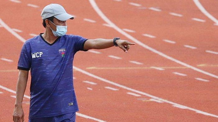 Widodo Cahyono Putro Pelatih Persita Tangerang