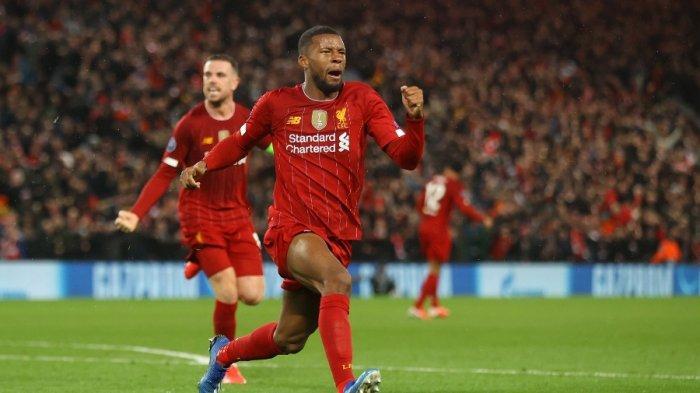 Hasil Babak I Liverpool vs Atletico 1-0, Georginio Wijnaldum Pecah Kebuntuan, Via Live Streaming