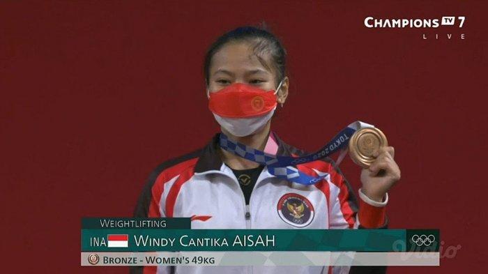 Motivasi dari Pelatih Dirdja Wihardja Membuat Windy Cantika Aisah Mampu Medali Perunggu di Olimpiade