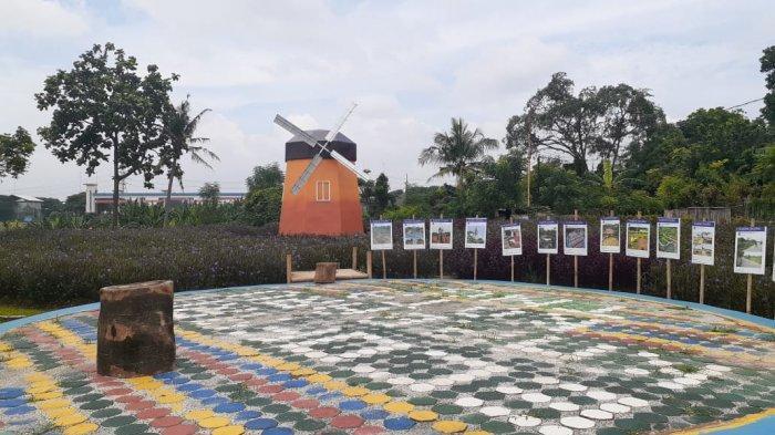 Arief R Wismansyah Resmikan Wisata Kincir Angin di Kota Tangerang