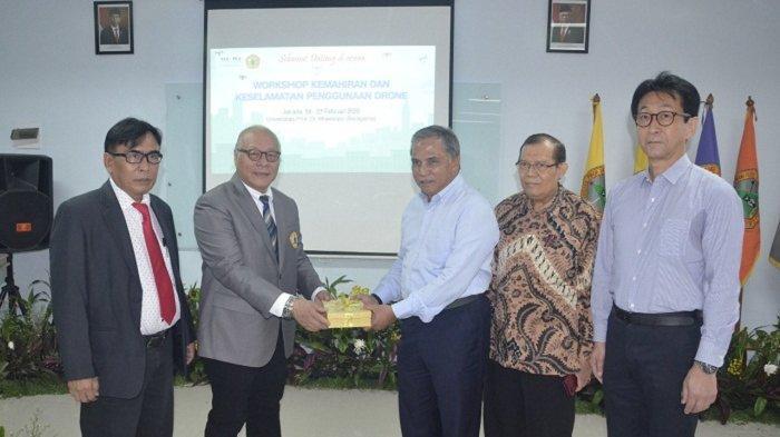Universitas Moestopo–JUIDA Indonesia Gelar Workshop Terbangkan Drone, Lisensi Berlaku di 15 Negara
