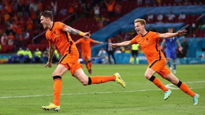 Hasil Sementara Babak Kedua Belanda vs Ukraina 2-2, Oranye Unggul Dulu 2-0, Ukraina Balas 4 Menit