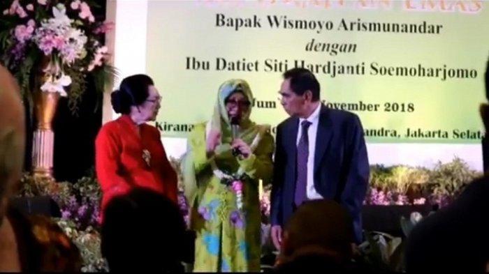Mbak Tutut Ternyata Mak Comblang Pernikahan Tantenya dengan Wismoyo Arismunandar