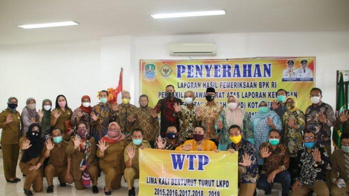 Kali Kelima Dapat Penilaian Opini WTP, Wali Kota Bekasi Berharap Kepuasan Warga Jadi Lebih Baik Lagi