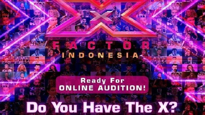 Ajang Pencarian Bakat X Factor Indonesia Mulai Gelar Audisi Online