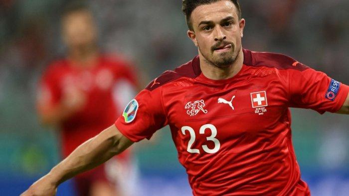Swiss vs Turki 3-1, Xherdian Shaqiri Sumbang Dua Gol dan Pecahkan Rekor Gol Turnamen Besar 7 Gol