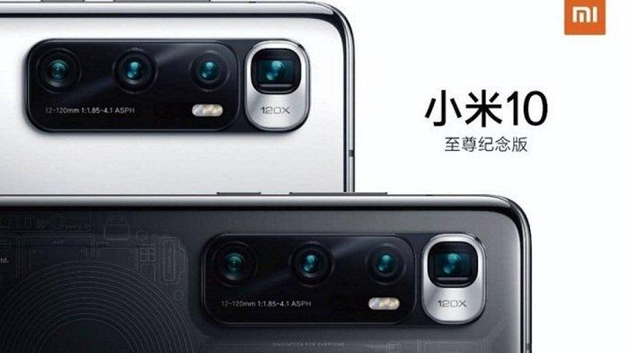 Resmi, Xiaomi Mi 10 Ultra Andalkan Zoom 120X dan Isi Full Baterai Cuma 20 Menit, Ini Spesifikasinya