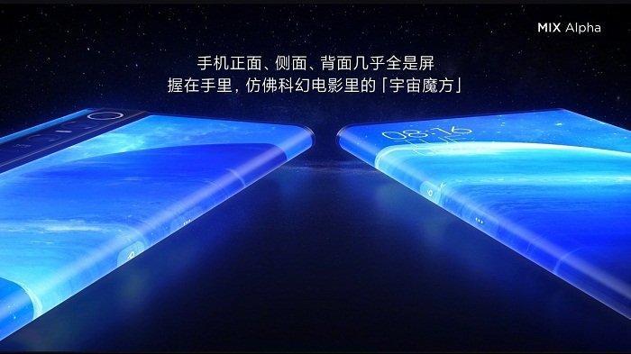 Xiaomi Mi Mix Alpha, Ponsel Berselimutkan Layar dengan Kamera 108 MP, Ini Spesifikasi dan Harganya