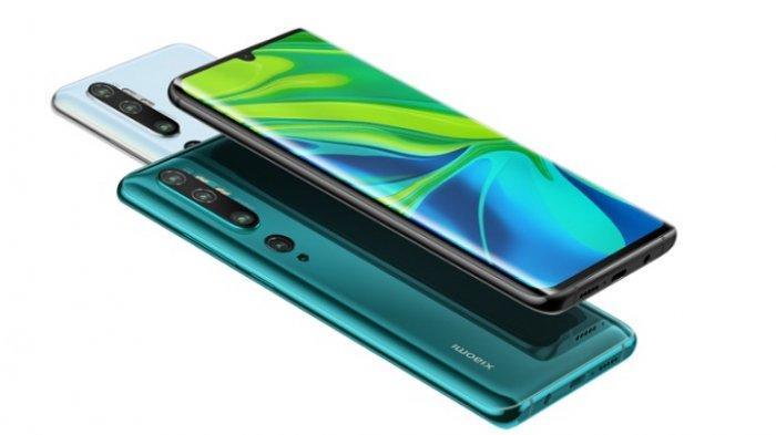 Dibekali 5 Kamera dengan Resolusi Utama 108 MP, Xiaomi Mi Note 10 Meluncur untuk Pasar Global