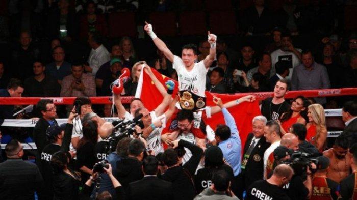 Xu Can Catat Sejarah Sebagai Petinju Tiongkok Pertama Raih WBA