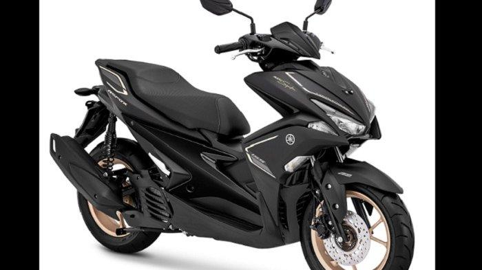 Meluncur, Yamaha Xmax dan Aerox 155 VVA S-Version Edisi MAXI Signature, Ini Harganya