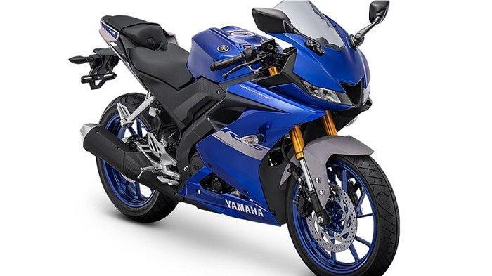 Yamaha All New R15 Metallic Blue 2021