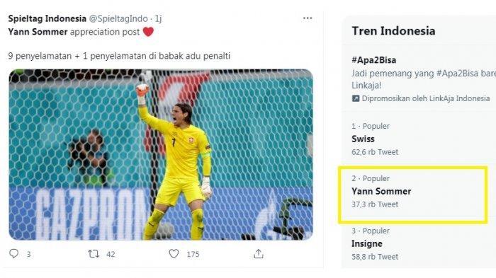 Yann Sommer Trending, Dapat Pujian Habis Meski Swiss Tersingkir, Harusnya Man Of The Match?