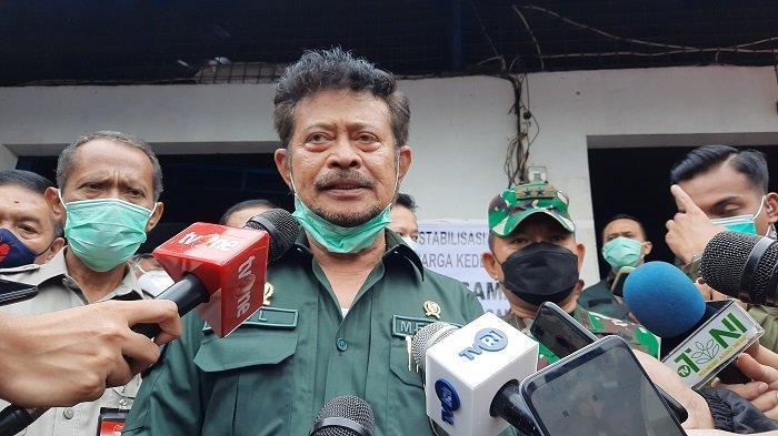 Mentan Syahrul Yasin Limpo: Stok Beras Surplus, Tidak Perlu Impor