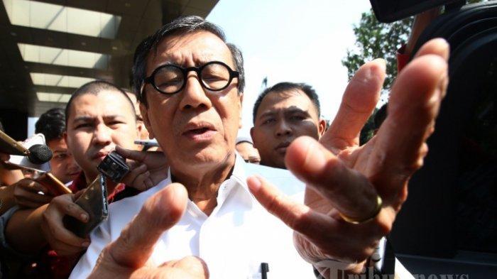 Ali Ngabalin Bocorkan Pekan Ini Ada Reshuffle, Yasonna Laoly Dianggap Layak Diganti Menurut Survei