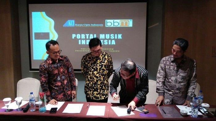 Bersama Bersatu Maju, Menciptakan Industri Musik Digital
