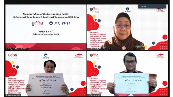 Program Ayah Angkat YDBA Perkuat Global Supply Chain
