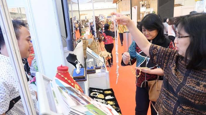 BERITA FOTO : UMKM Binaan YDBA Meriahkan Trade Expo Indonesia 2018