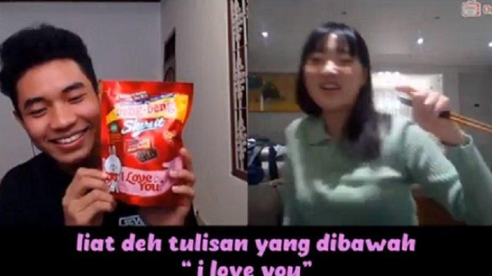 Youtuber Fiki Naki merayu cewek dari Korea di aplikasi OmeTv (Istimewa)