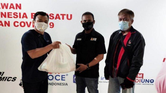 YPJI Salurkan Paket Sembako Kepada 100 Jurnalis