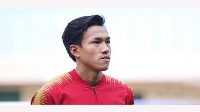 Yudha Febrian pernah bergabung bersama TC Timnas U-19 tapi dipulangkan karena tindakan indispliner