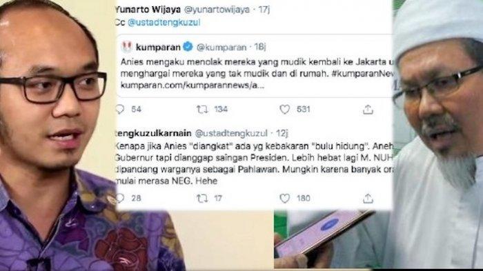 TAHUN BARU Imlek 2021, Tengku Zulkarnain: Saya Anak China, Lalu Dipanggil Ayah oleh Yunarto Wijaya