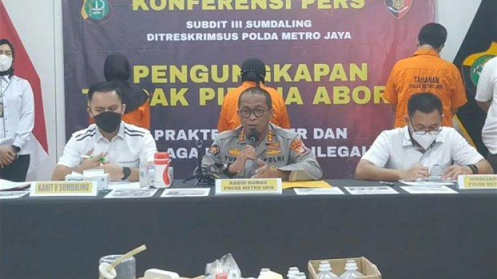 Pasutri Pelaku Aborsi Ilegal Praktik di Tempat Lain Sebelum Buka di Rumahnya di Mustika Jaya Bekasi