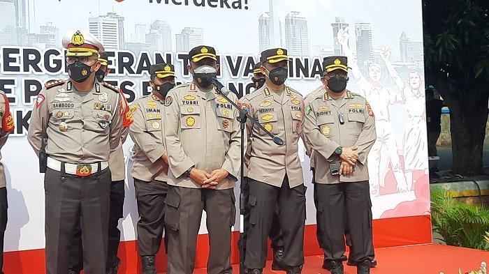 Polda Metro Jaya Jelaskan Capaian Vaksinasi Luar Jakarta Tertinggal Jauh