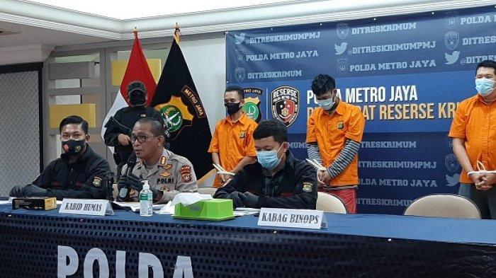 Resmob Ditreskrimum Polda Metro Jaya Ringkus Dua Anggota Bandit Spesialis Pencurian Sepeda Motor