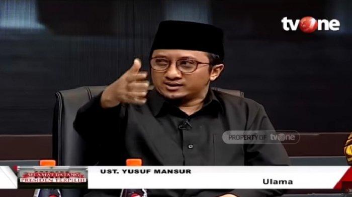 Doa Yusuf Mansur untuk Jokowi Setelah Keputusan MK, Jangan Ada Oportunis di Pemerintahan Jokowi