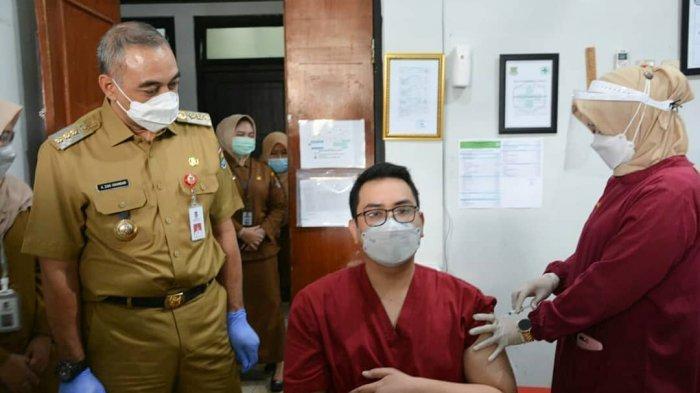Target Hingga Akhir Februari Seluruh Tenaga Kesehatan di Kabupaten Tangerang Sudah Disuntik Vaksin